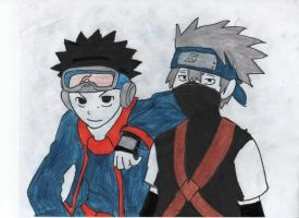 The Sharingan Heros, For TeamMinato by stealing-Hidans-tofu