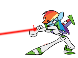 Dash Lightyear by IrontwistFiM