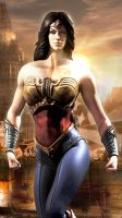 Wonder Woman Injustice Gods Among Us by JPGraphic