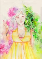 Goddess of Spring by Pae-kym
