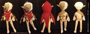 Demon Lord Ghirahim plushie by tavington