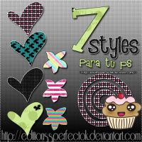 7 Styles para Ps by EditionssPerfectOk