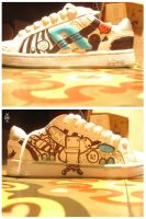 design to wear20_crazy shoes by Hopeazul
