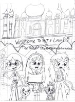 Welcome to htf  land 8:The Tale of the Golden Gane by STITCH62633