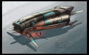 .:Ship sketch- 58 colour:. by David-Holland