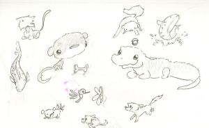 super cute page of doodles by atnason