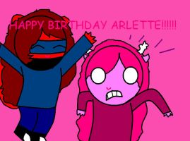 HAPPY BIRTHDAY ARLETTE by Ask-Cat-and-OCs