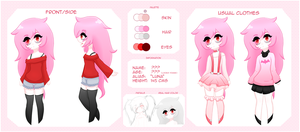 Luna - Character Ref by Sylaxina