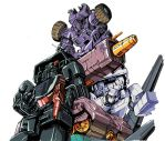 battlecharger and trypticon's bots by marble-v