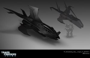 TF Dreadwing ship  rough v1 by AugustoBarranco