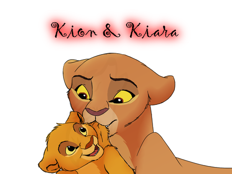 Kiara and Kion by SashaShasta