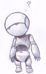 Marvin the Paranoid Android by pokegirl5000