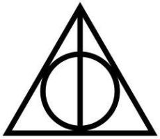 Deathly Hallows Symbol by bananasprinkles
