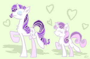 Sweetheart Sisters by Minty-Illusion