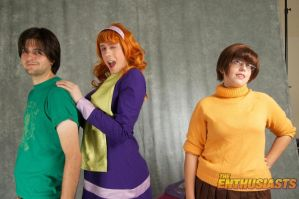 The Scooby Doo gang by Reipoker