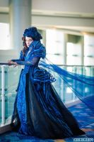 Into the Woods Witch Cosplay at D23 by glimmerwood