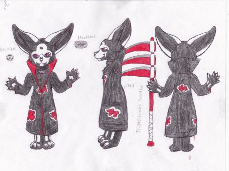 Hidan Reference Sheet-Clothes by CurruptedCynder