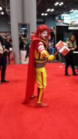 NYCC 2014 - Ronald McDonald as Thor by DestinyDecade