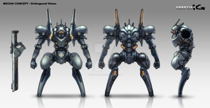 Mecha Concept Ortho by ichitakaseto
