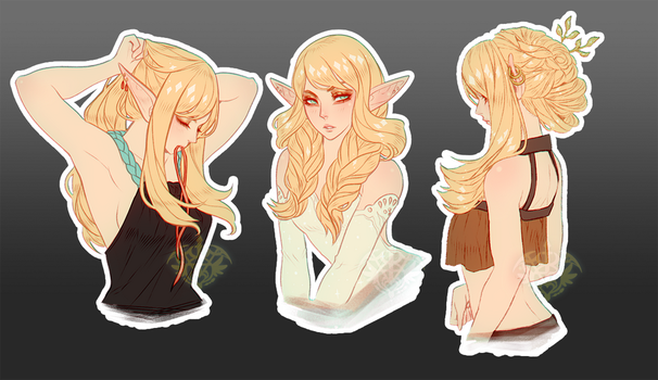 Eve Hairstyles by Valkymie