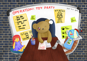 Operation Toy Party by SillyArtist