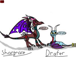 Request-Shartrace And Drafer! by Animatronic-Skrillex