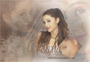 Wallpaper Ariana Grande by YuliiEditiions
