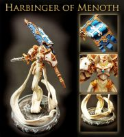 Harbinger of Menoth by WinterFlightDesign
