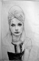 pencil portraits 1 by Cok3ster