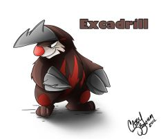 Excadrill by Chansey123