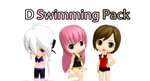 [MMD] D Swimming Pack +DL by Saza-kunn
