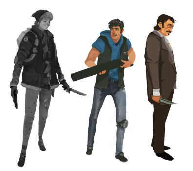 Character Sketches by ScottPellico