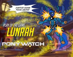 Ponywatch Play of the Game: Lunrah by the-gneech