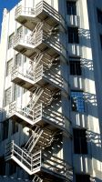 Fire Escape Craziness by daisysunshineyay