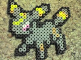 Umbreon Pokemon by Ravenfox-Beadsprites