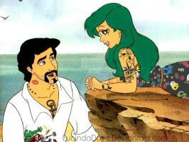 Disney'sGonePunk - The little mermaid. by LucindaDove
