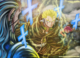 Fairy Tail - Hades vs. Laxus by staf93