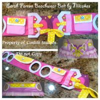Serah Farron Beachwear: Belt Commission by niicakes