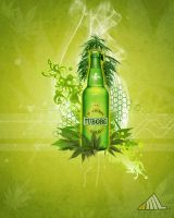 Marijuana beer by k4miLa