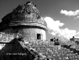 Mayan observatory by ncr