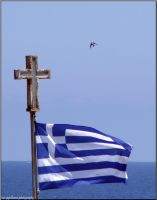 greece flag by Nivster