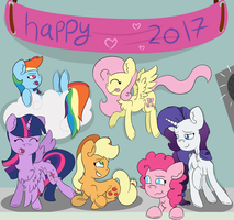 Happy new year everypony by TwitterShy