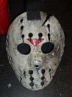 Homemade Jason Voorhees mask by VoiceOfTheOutcasts
