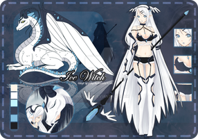 :Adoptable: 008 Ice Witch [CLOSED] by pinkyCHU