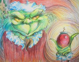The Grinch by ThatJuanArtist