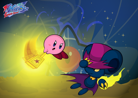 Kirby Squeak Squad by pikmin789