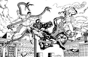 Spiderman Inks 012511 by ChrisMcJunkin