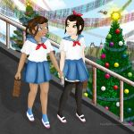 Azutara Christmas After School by vick330