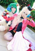 Macross Frontier - Shine of Valkyrie Ranka Sheryl by Xeno-Photography
