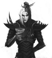 Dark Eldar: 1000 by Beckjann